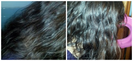 I am a terrible photographer and I should have turned off flash. Before on left, after on right